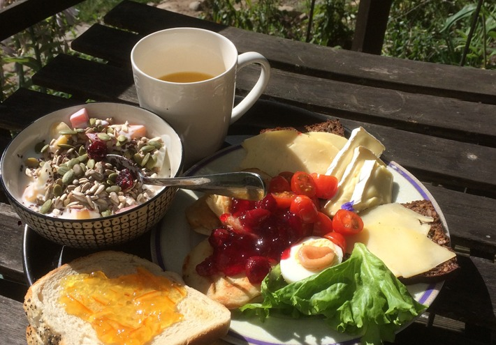 breakfast at the front porch