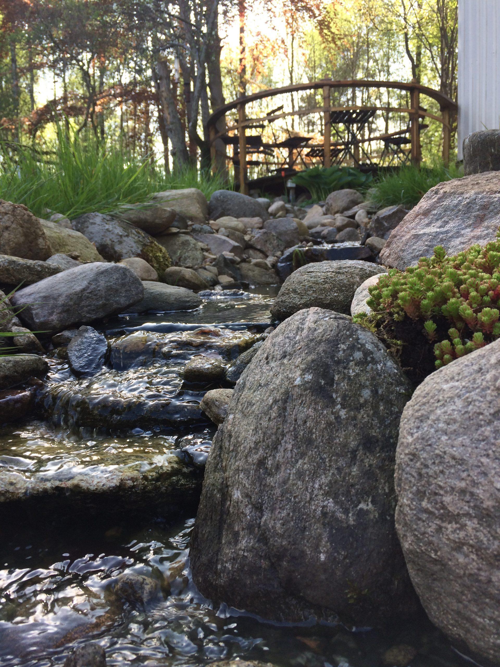 the garden creek